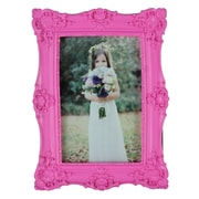 KingwinHomeDecor Resin Picture Frame; Rose