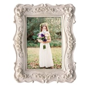 KingwinHomeDecor Resin Picture Frame; White