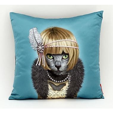Empire Art Direct Pets Rock ''Daisy'' Throw Pillow