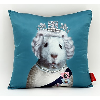 Empire Art Direct Pets Rock ''HRH'' Throw Pillow