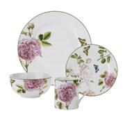 Spode Roses 16 Piece Dinnerware Set, Service for 4