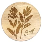 Martins Homewares Herb Garden Sage Trivet