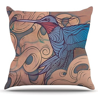 KESS InHouse The Aerialist by Mat Miller Outdoor Throw Pillow