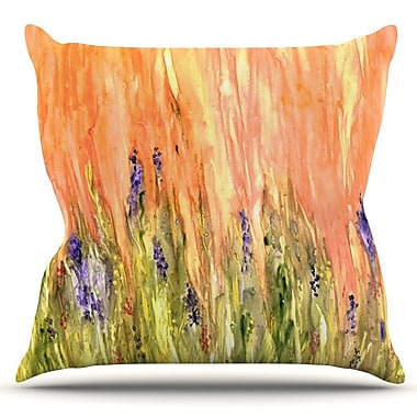 KESS InHouse Welcome Spring by Rosie Brown Outdoor Throw Pillow