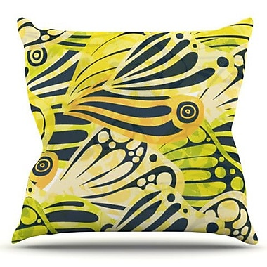 KESS InHouse Papalote by Anchobee Outdoor Throw Pillow