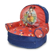 Idea Nuova Mickey Mouse Kids Novelty Chair w/ Storage Compartment