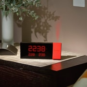 Oregon Scientific Prysma Atomic Projection Alarm Clock; Red