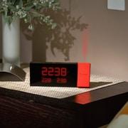 Oregon Scientific Prysma Atomic Projection Alarm Clock; Red