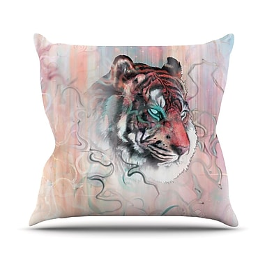 KESS InHouse Illusive by Nature Outdoor Throw Pillow