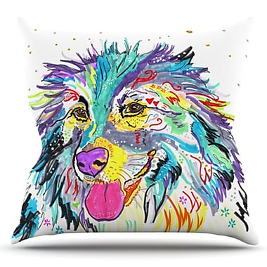 KESS InHouse Dally by Rebecca Fischer Outdoor Throw Pillow