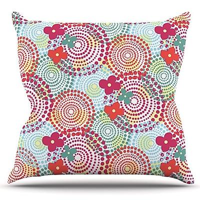 KESS InHouse Balls by Louise Machado Outdoor Throw Pillow