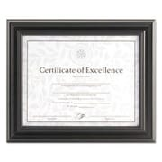 DAX MANUFACTURING INC. Solid Wood Picture Frame; Black