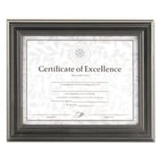 DAX MANUFACTURING INC. Solid Wood Picture Frame; Pewter