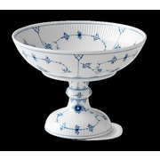 Royal Copenhagen Blue Fluted Plain 33.3 oz. Bowl On Stand