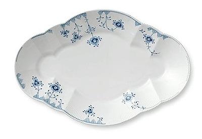 Royal Copenhagen Blue Elements Oval Platter