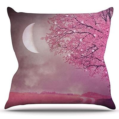 KESS InHouse Song of the Springbird by Monika Strigel Outdoor Throw Pillow