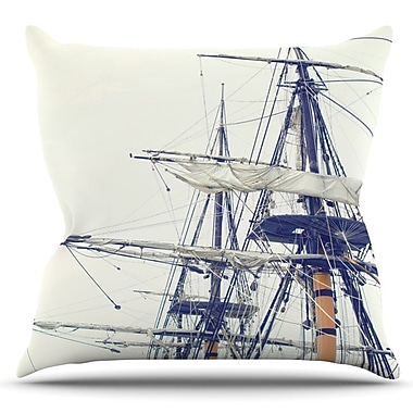 KESS InHouse Sun Glasses at Night by Project M Outdoor Throw Pillow