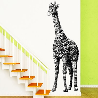 My Wonderful Walls Ornate Giraffe by BioWorkZ Wall Decal; Large