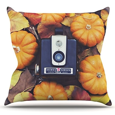 KESS InHouse The Four Seasons: Fall by Libertad Leal Outdoor Throw Pillow