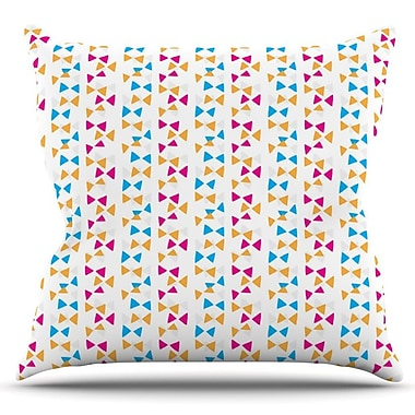 KESS InHouse Let's Celebrate by Apple Kaur Designs Outdoor Throw Pillow