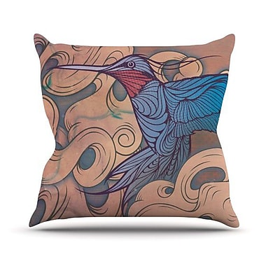 KESS InHouse The Aerialist Outdoor Throw Pillow