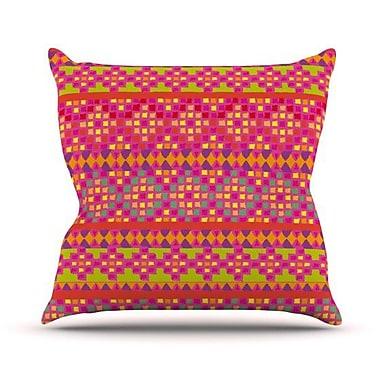 KESS InHouse Mexicalli Outdoor Throw Pillow