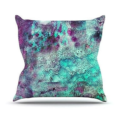 KESS InHouse Think Outside The Box Outdoor Throw Pillow