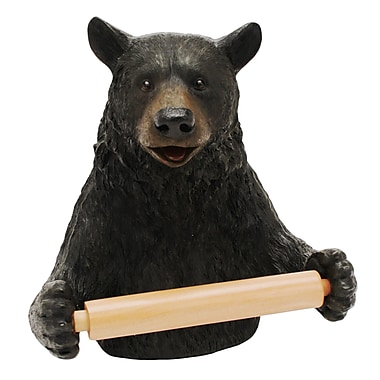 Rivers Edge Cute Bear Wall Mounted Toilet Paper Holder
