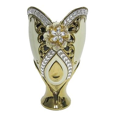 D'lusso Designs Gold Bling Vase