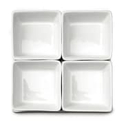 Linen Depot Direct Square Serving Bowls 4 Piece Set (Set of 4)