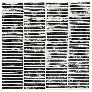 Thirstystone Brooklyn Stripe Block Print Coaster (Set of 4)