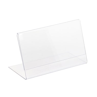 Kostklip® L-Style, Angled, One Piece Sign Holder, 3