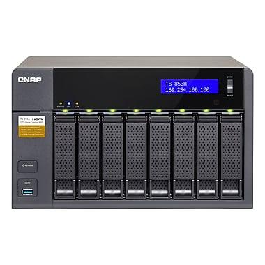 QNAP – Combo NAS QTS-Linux 8 baies, mémoire vive de 8 Go (TS-853A-8G-US)