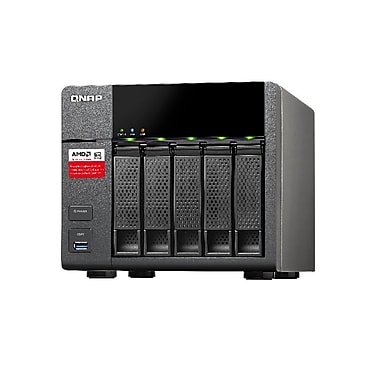 QNAP (TS-563-8G-US) 5-Bay High-Performance 10GbE-Ready Quad-Core Business NAS, 8GB RAM