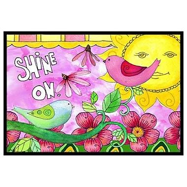 Caroline's Treasures Shine on Sunshine Doormat; 1'6'' x 2'3''