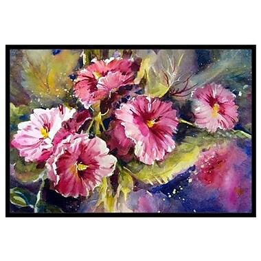 Caroline's Treasures April Showers Bring Spring Flowers Doormat; 2' x 3'