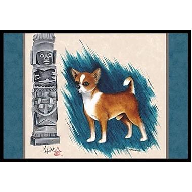 Caroline's Treasures Chihuahua Totem Doormat; 2' x 3'