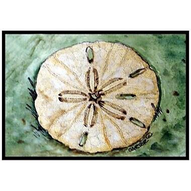 Caroline's Treasures Sending Sand Dollars Back to Sea Doormat; 2' x 3'