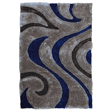 Sintechno Inc Electric Blue Area Rug