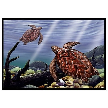 Caroline's Treasures Sea Turtles Doormat; 2' x 3'