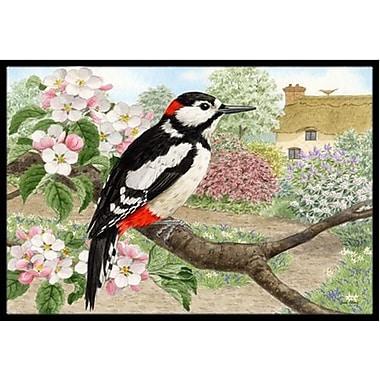 Caroline's Treasures Woodpecker Doormat; 2' x 3'