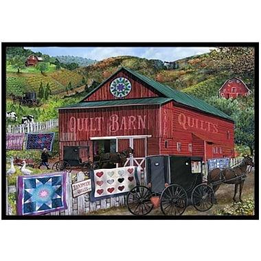 Caroline's Treasures The Quilt Barn Doormat; 1'6'' x 2'3''