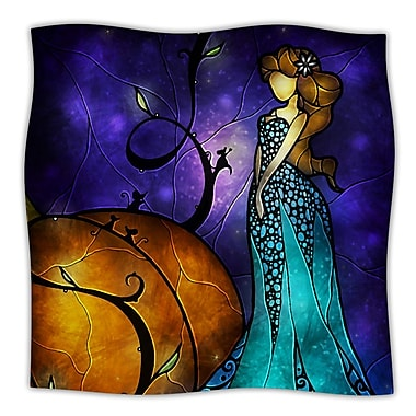 KESS InHouse Cinderella Throw Blanket; 40'' L x 30'' W