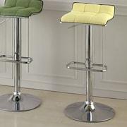 Hokku Designs Adjustable Height Swivel Bar Stool; Yellow
