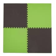 Tadpoles 4 Piece Playmat Set; Green / Brown