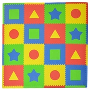 Tadpoles 16 Piece Tadpoles First Shapes Playmat Set; Multi / Primary