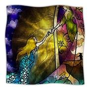 KESS InHouse Fairy Tale Off To Neverland Throw Blanket; 60'' L x 50'' W