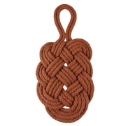 Janey Lynn's Designs Inc Braided Trivets; Copper Cents