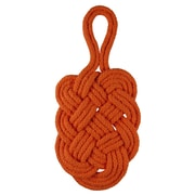 Janey Lynn's Designs Inc Braided Trivets; Orange Marmalade