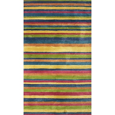 MOTI Rugs Ashlee Hand-Tufted Area Rug; 1'8'' x 1'8''